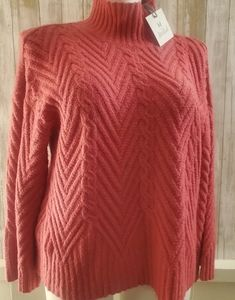 NWT Pink Super Soft Sweater by M for Marled